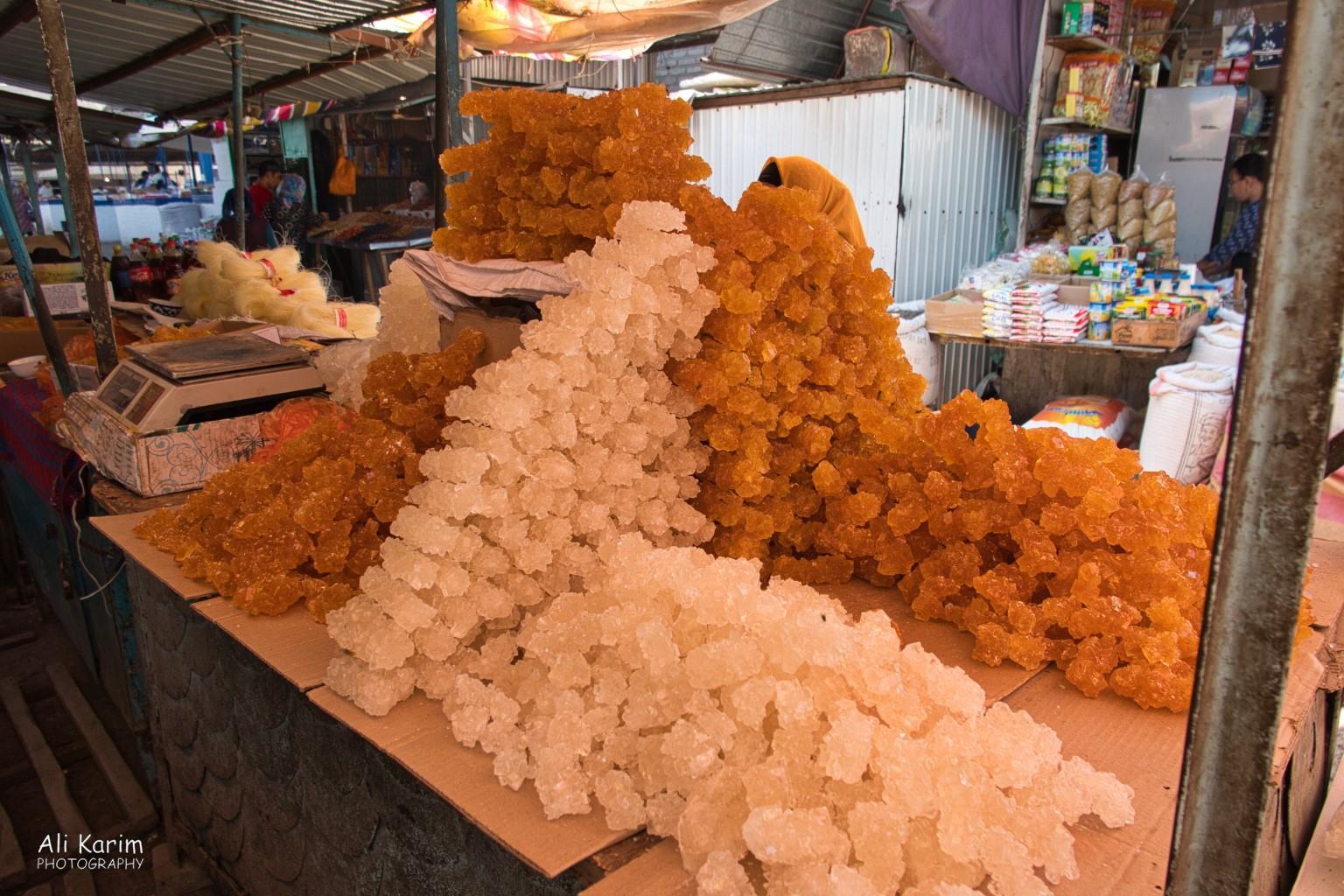 Silk Road 15: Osh, Kyrgyzstan Crystalline sugar, in color