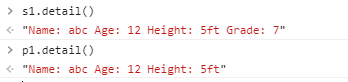 method overriding in JavaScript