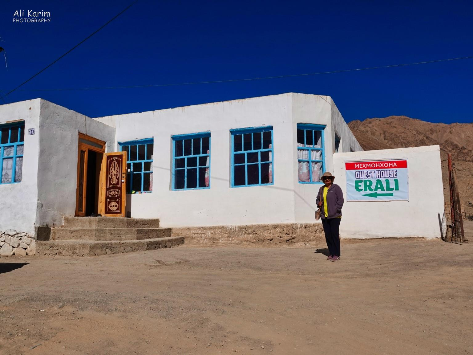 More Murghab & Alichur, Tajikistan, This was the Home stay we stayed at; belongs to Erali's family