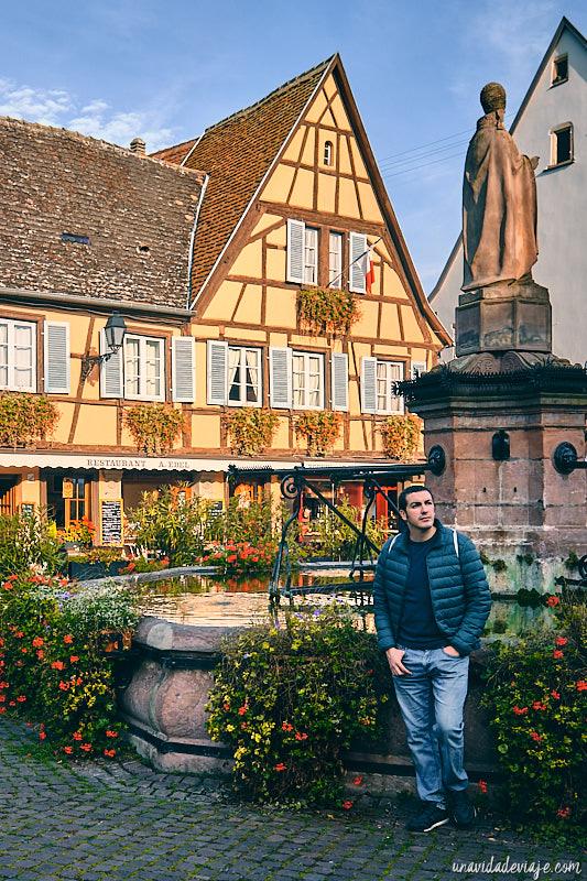 pueblo más bonito de la Alsacia