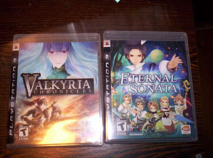 Valkyria Chronicles & Eternal Sonata