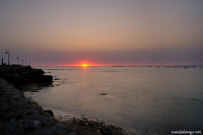 Playa de la Caleta. Que ver en Cádiz
