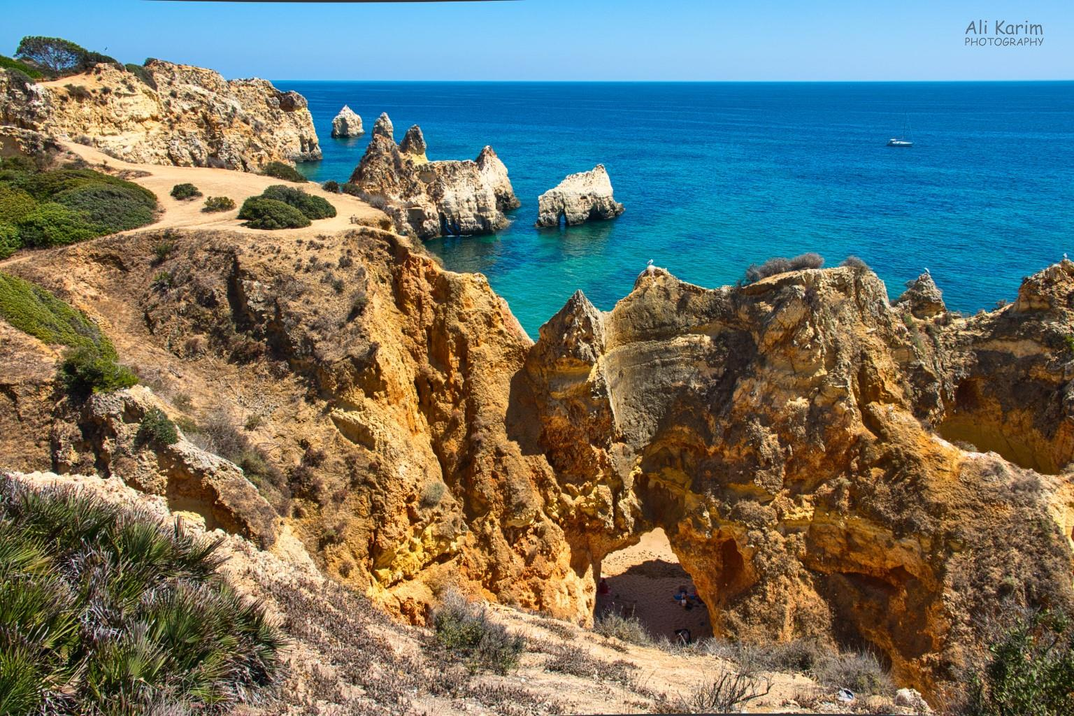 Algarve, Portugal Beautiful coastline scenery
