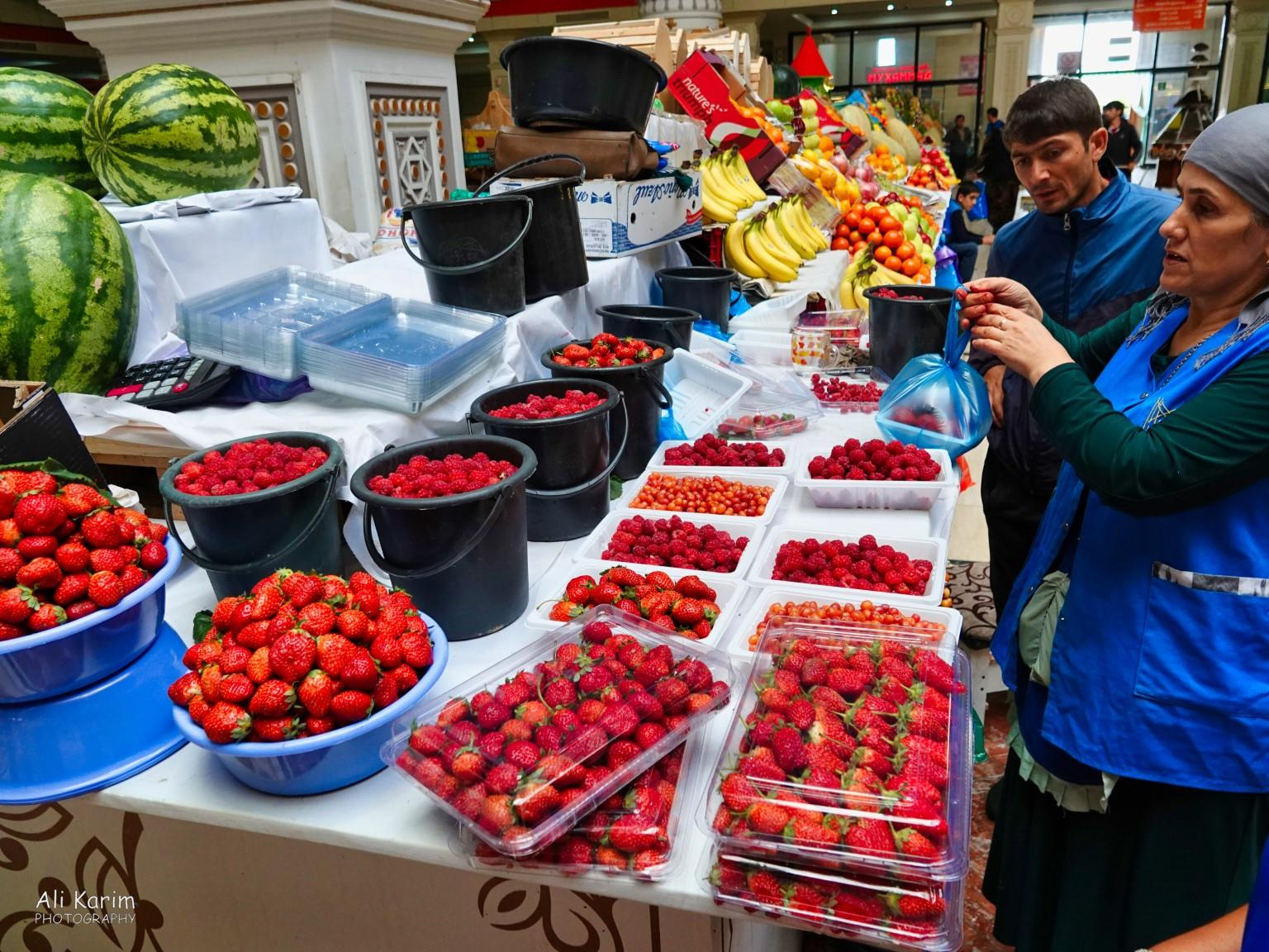 More Dushanbe, Tajikistan Fresh strawberries