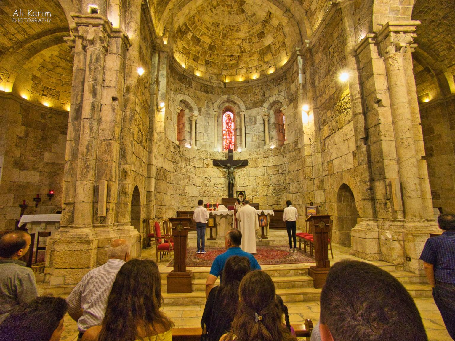 Beirut to Tripoli Service inside the Saint Jean Marc Maronite church