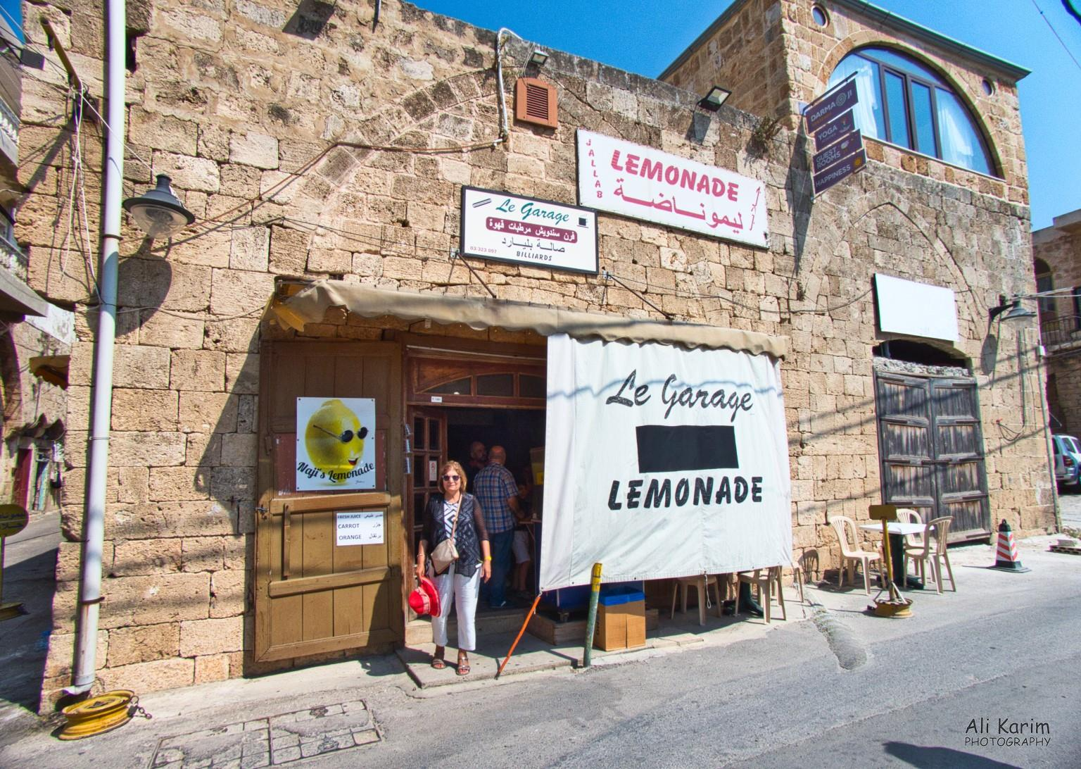 Beirut to Tripoli Lemonade stop