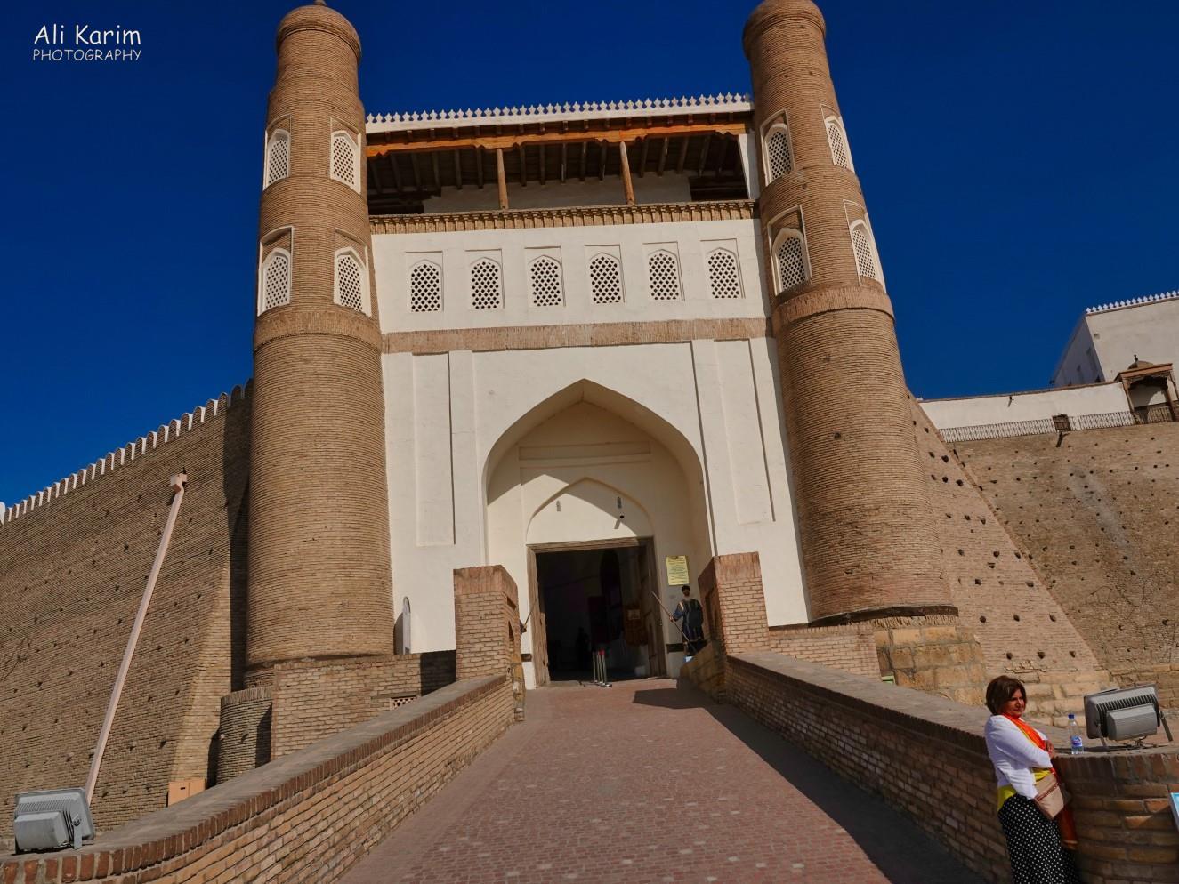 Bukhara, Oct 2019, Entrance to the Arc Citadel