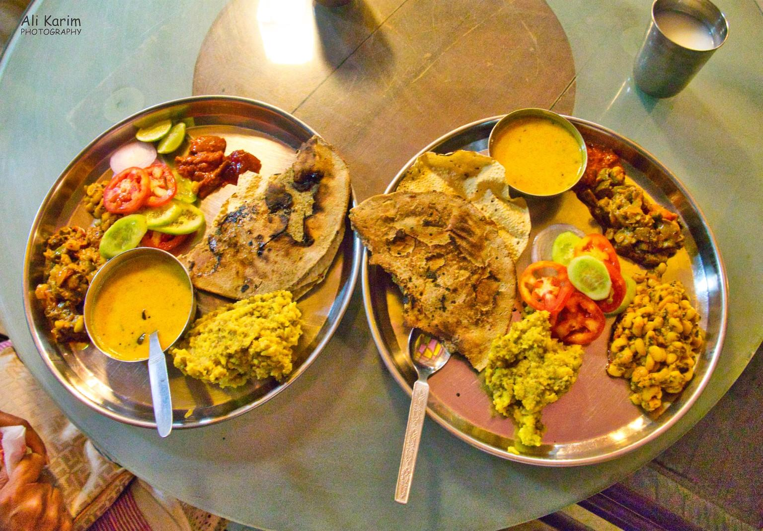 Bhuj, Kutch, Gujarat Kutchi dinner