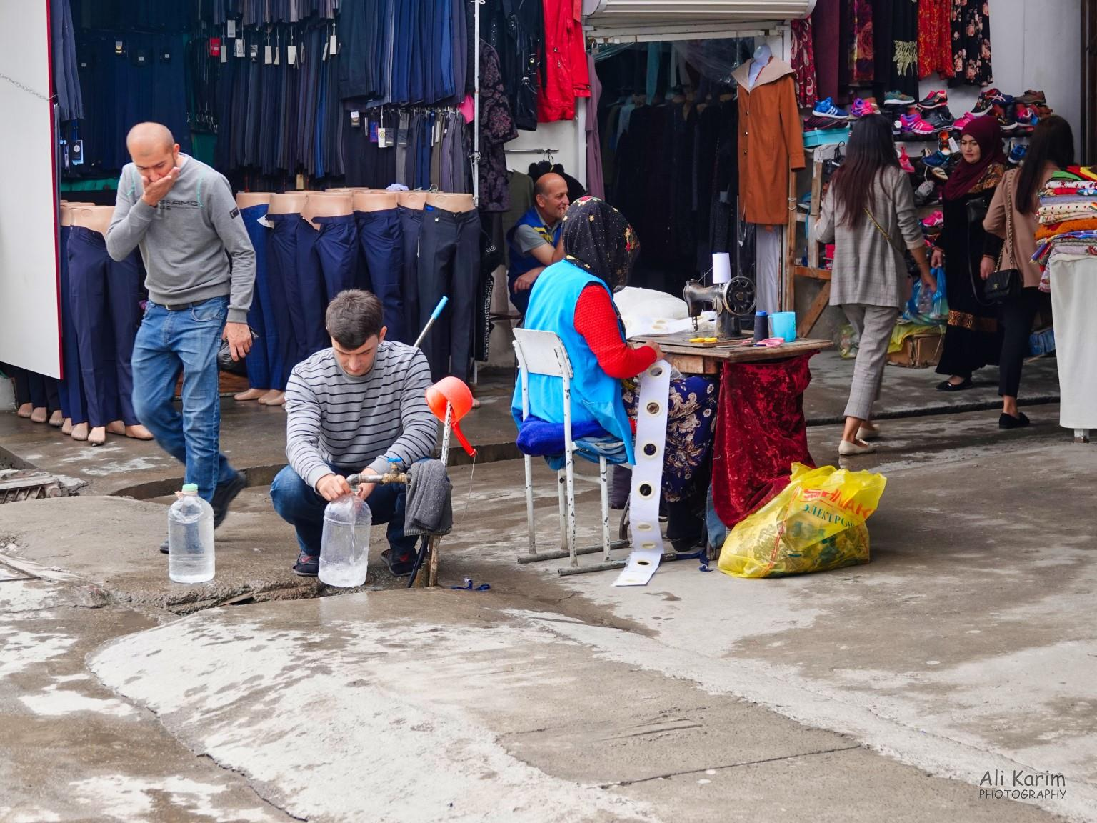 More Dushanbe, Tajikistan Watering hole in the market