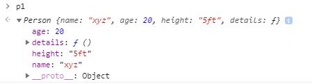 Class in JavaScript