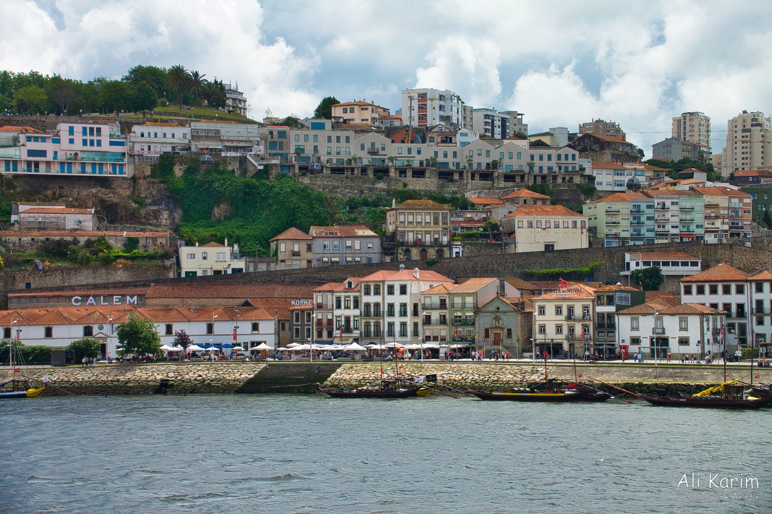 Porto The area across the Duoro river in Porto is called Villa Nova de Gaia; where all the Port wines cellars are located