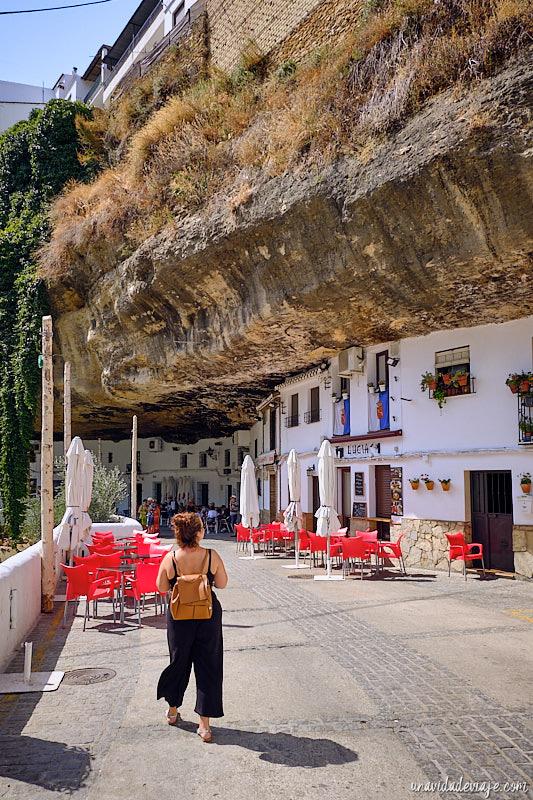 pueblos blancos de Andalucía. Setenil de las bodegas
