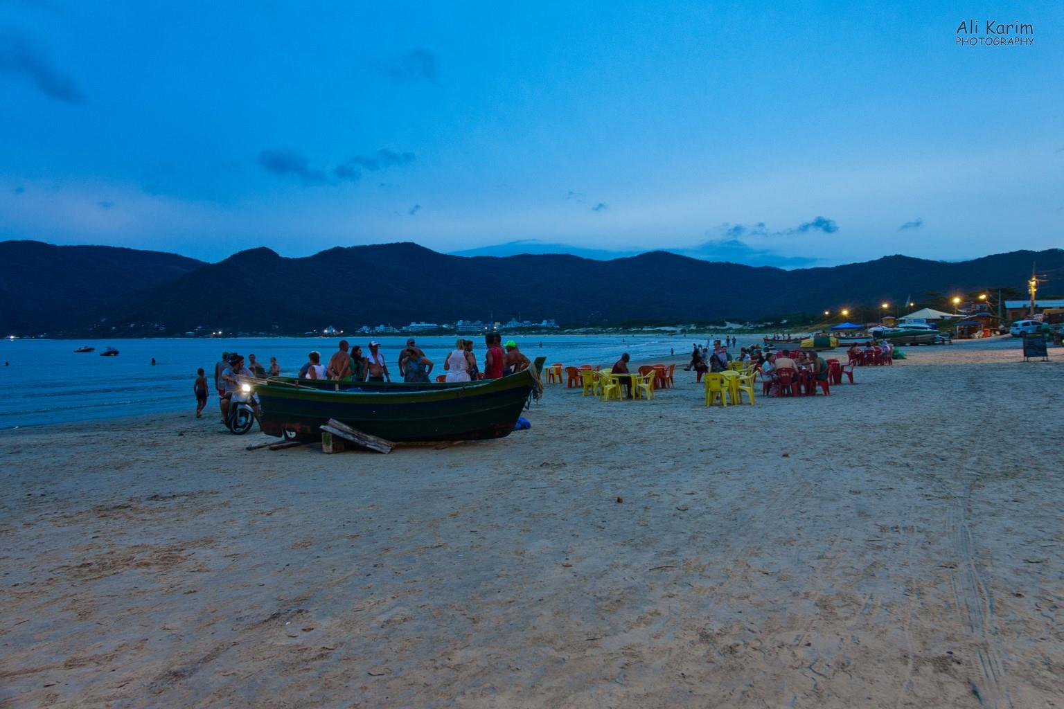 Florianópolis, Brazil Sundowner on Pantano do Sul beach