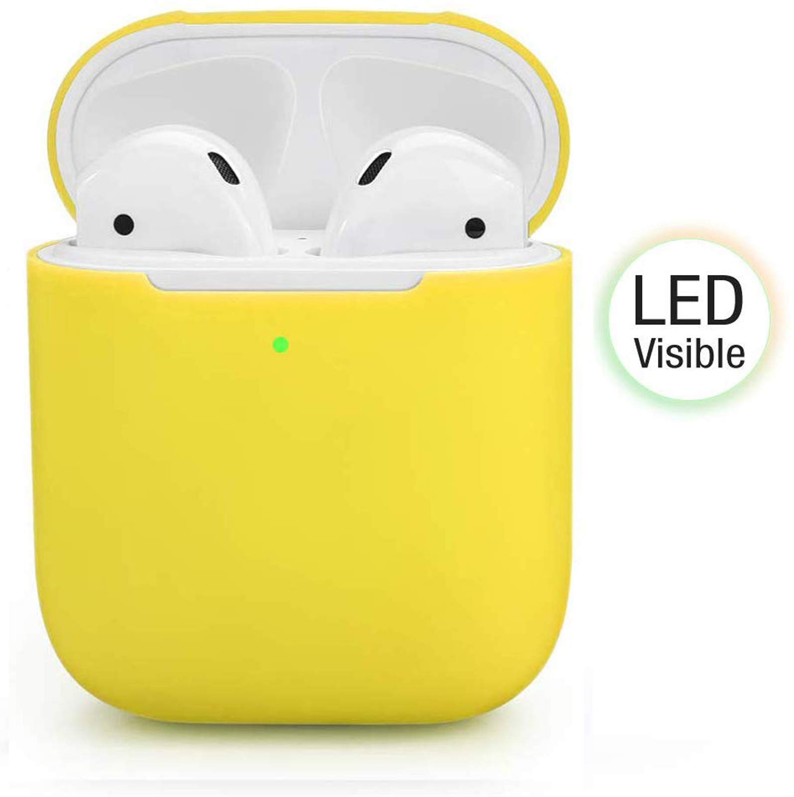 New-Silicone-TPU-Soft-Skin-Case-For-Apple-Airpods-1-2-Earphones-Charger-Cover miniatura 130