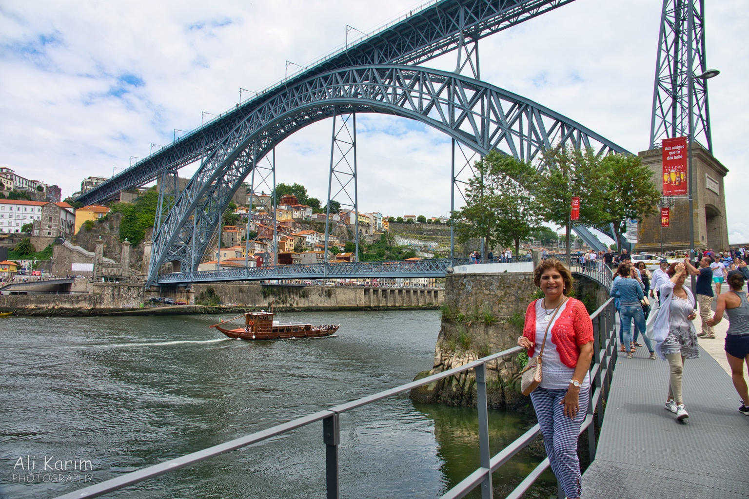 Porto Suspension bridge for both cars, people and trains