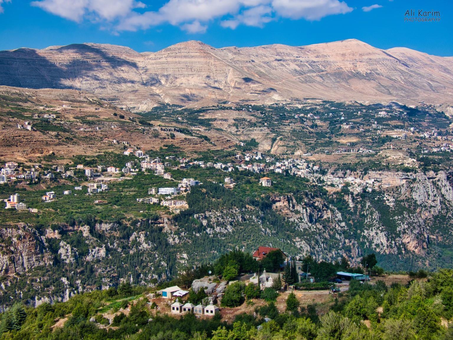 Bsharri and Quadisha Valley Qadisha Valley