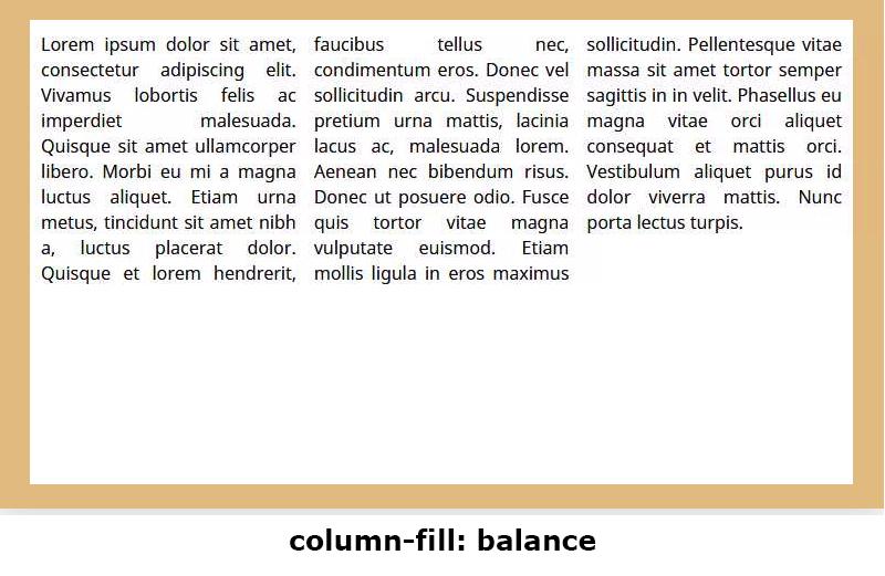 column-fill: balance