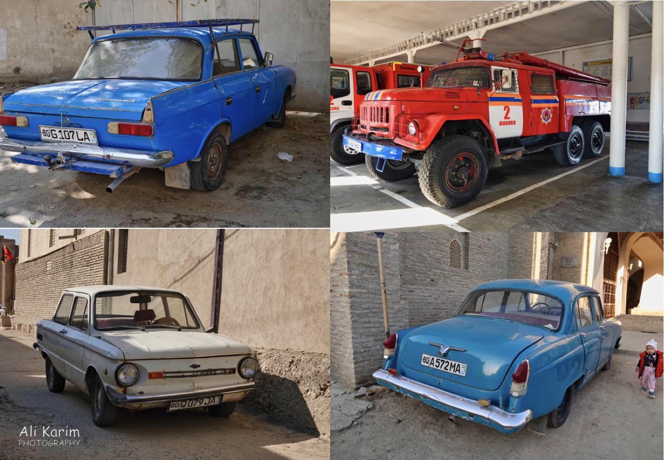 Bukhara, Oct 2019, I love these old vehicles, still functional. Any idea of make/model/specs?