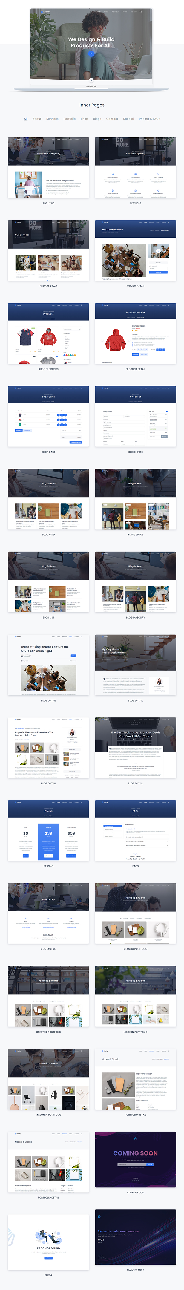 Starty - Bootstrap 5 Multipurpose Template - 4