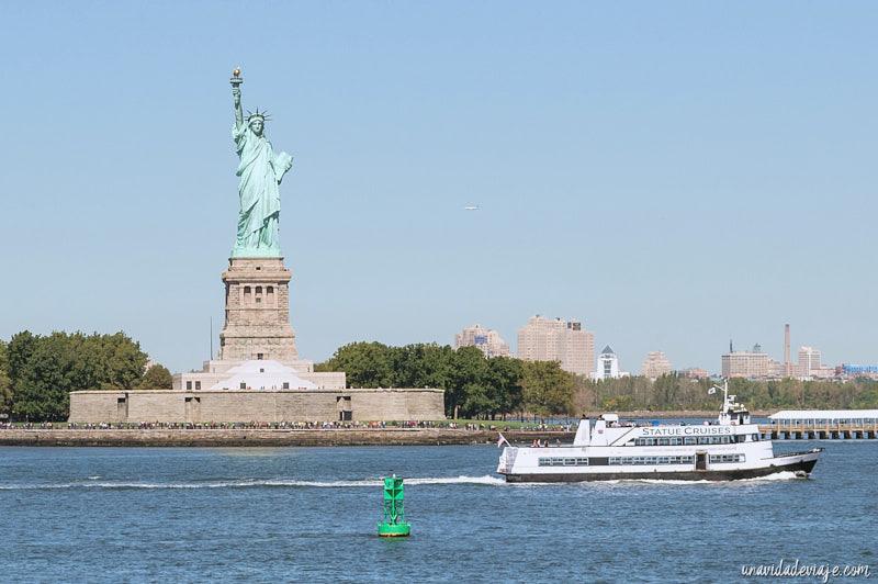 visitar estatua de la libertad