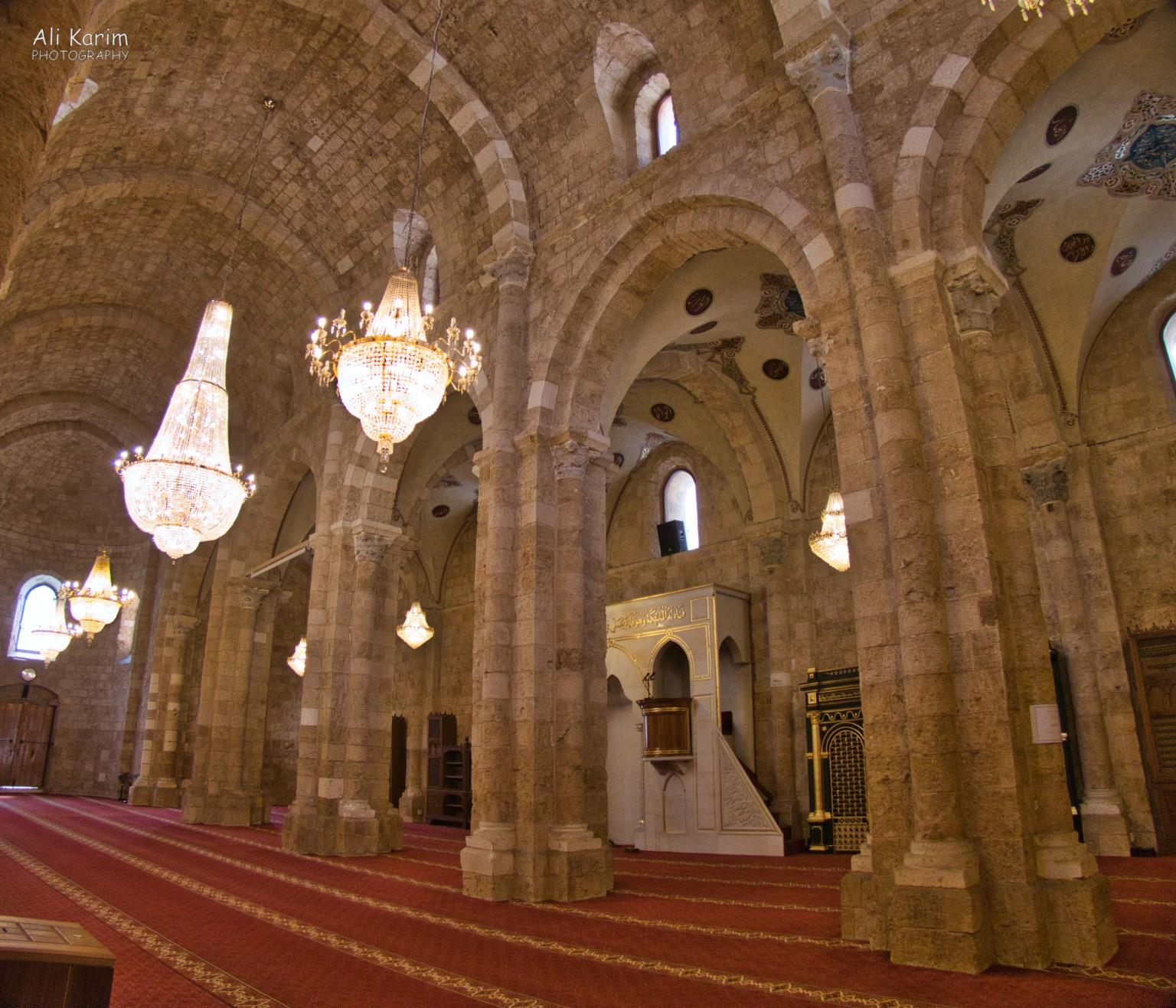 Beirut Al-Omari Grand Mosque, with a lot of history