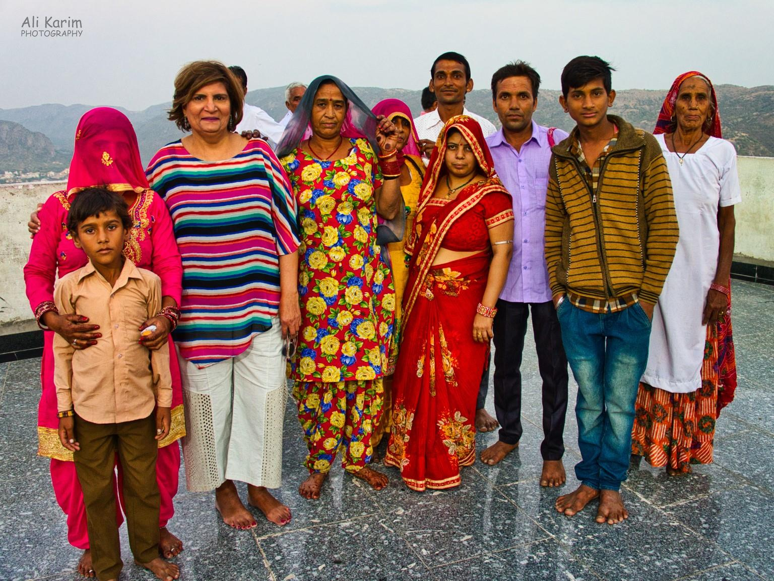 Pushkar, Rajasthan This family adopted us at the Savitri temple