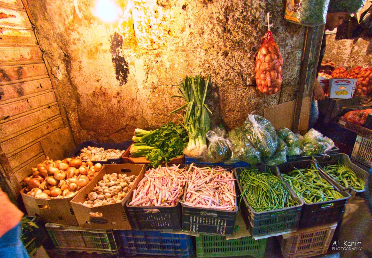 Tripoli Lebanon Vegetable stall