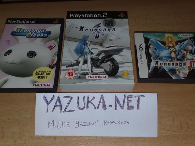 Xenosaga Freaks, XS2 PAL & DS spel