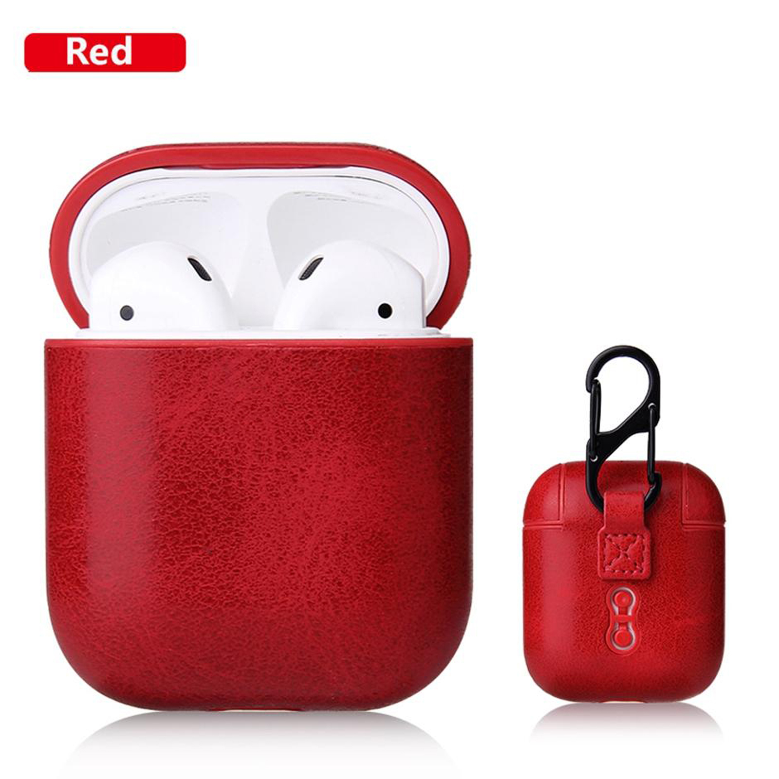 New-Leather-Soft-Skin-Case-For-Apple-Airpods-1-2-1st-2nd-Gen-Earphones-PU-Cover thumbnail 58
