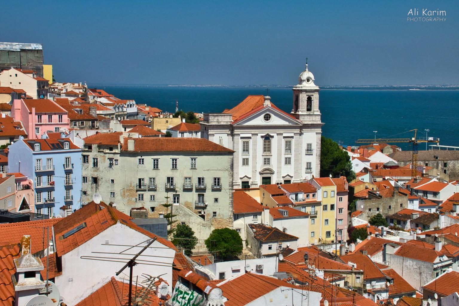 Lisbon Portugal: Beautiful views of Old Lisbon