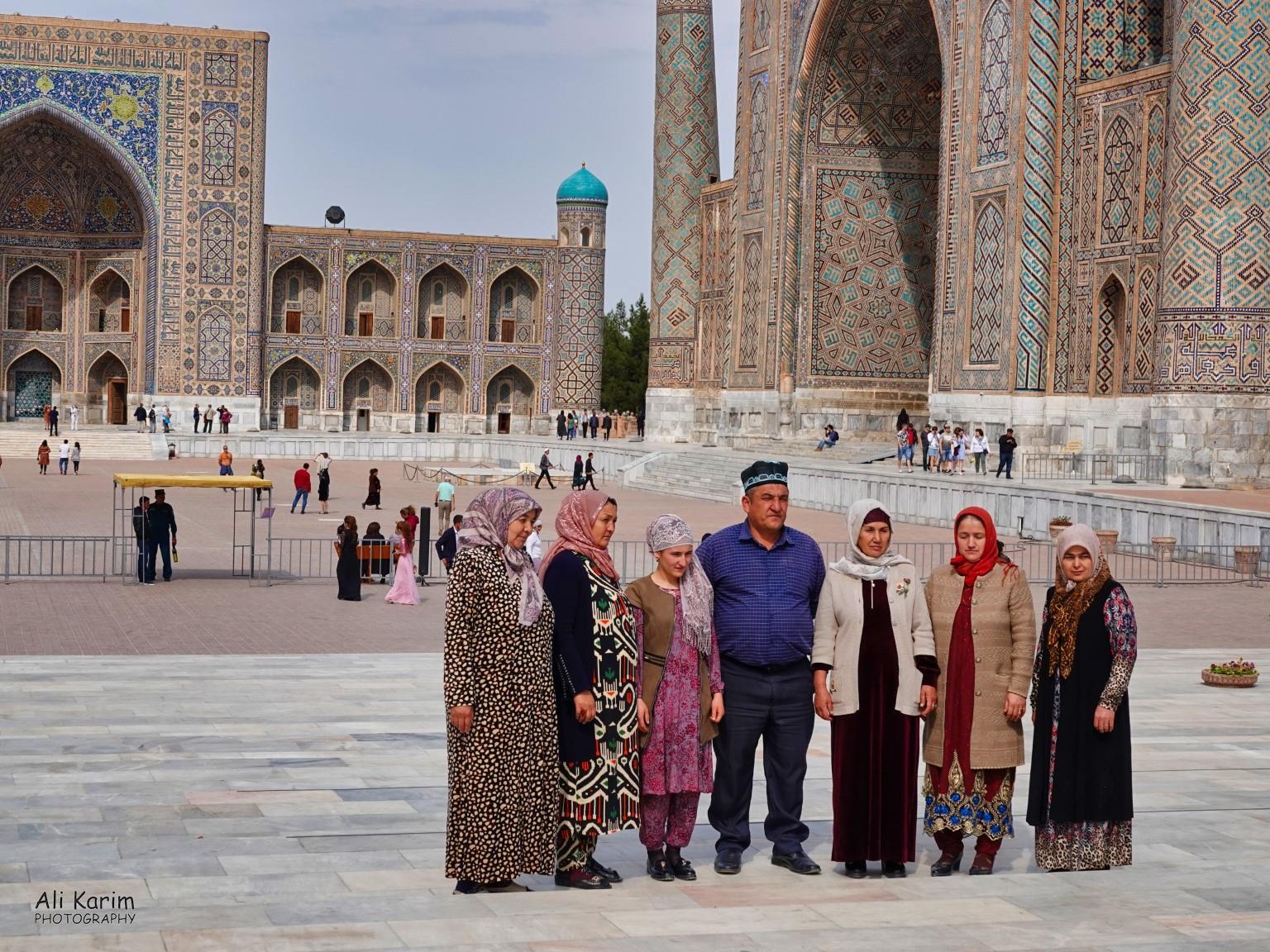More Samarkand, Local tourists