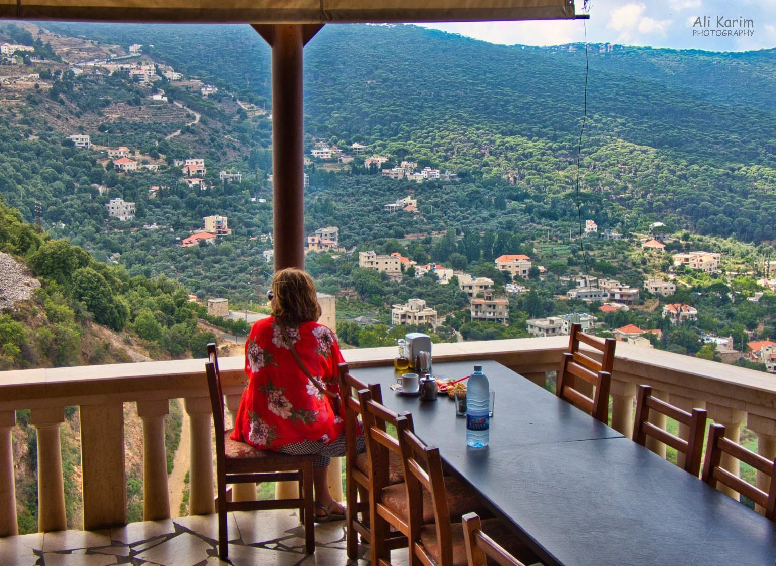 Druze and the Chouf Mountains Stop for coffee and snacks at the Jezzine waterfall