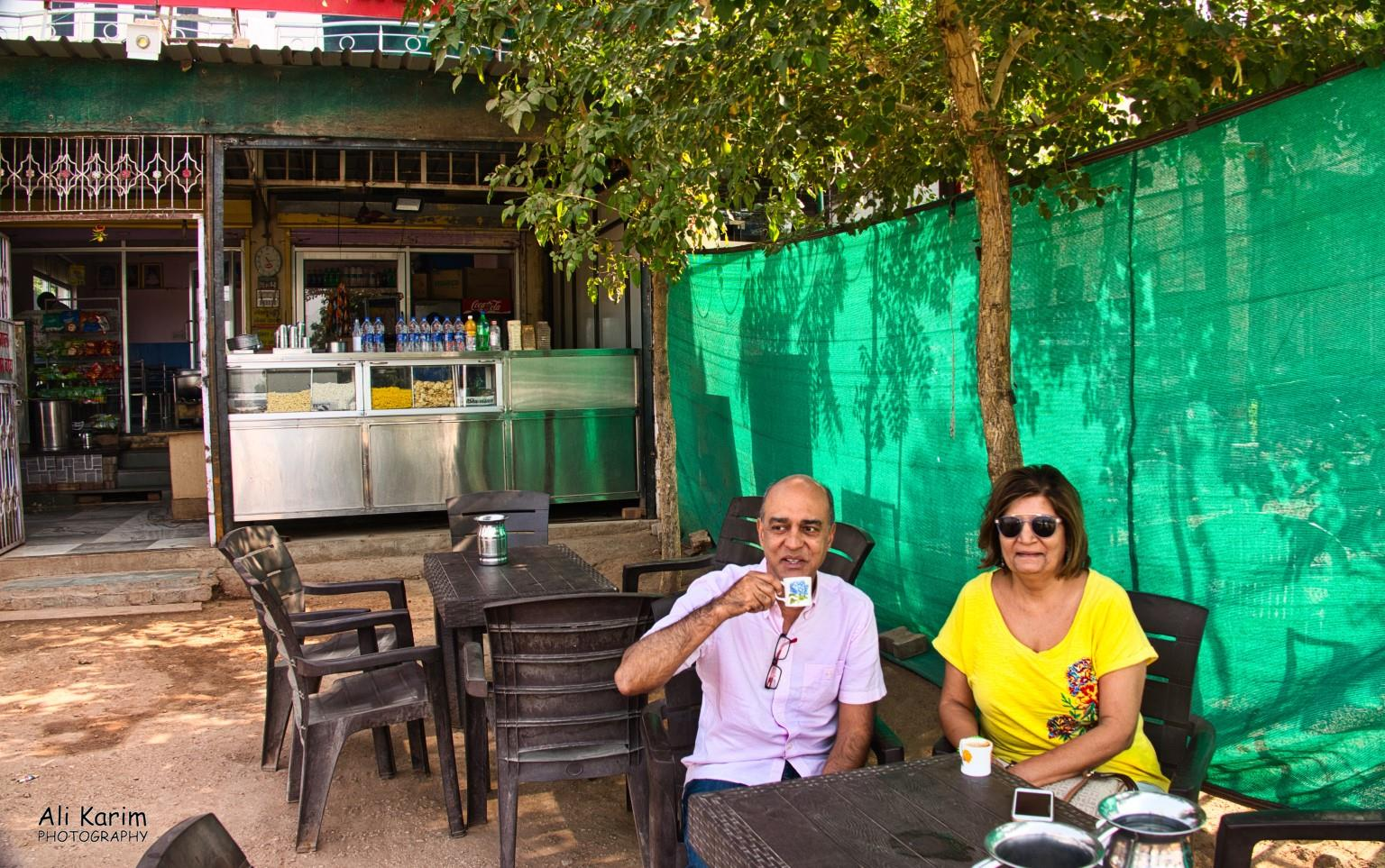 Bikaner, Rajasthan Kesar tea shop at Nagaur