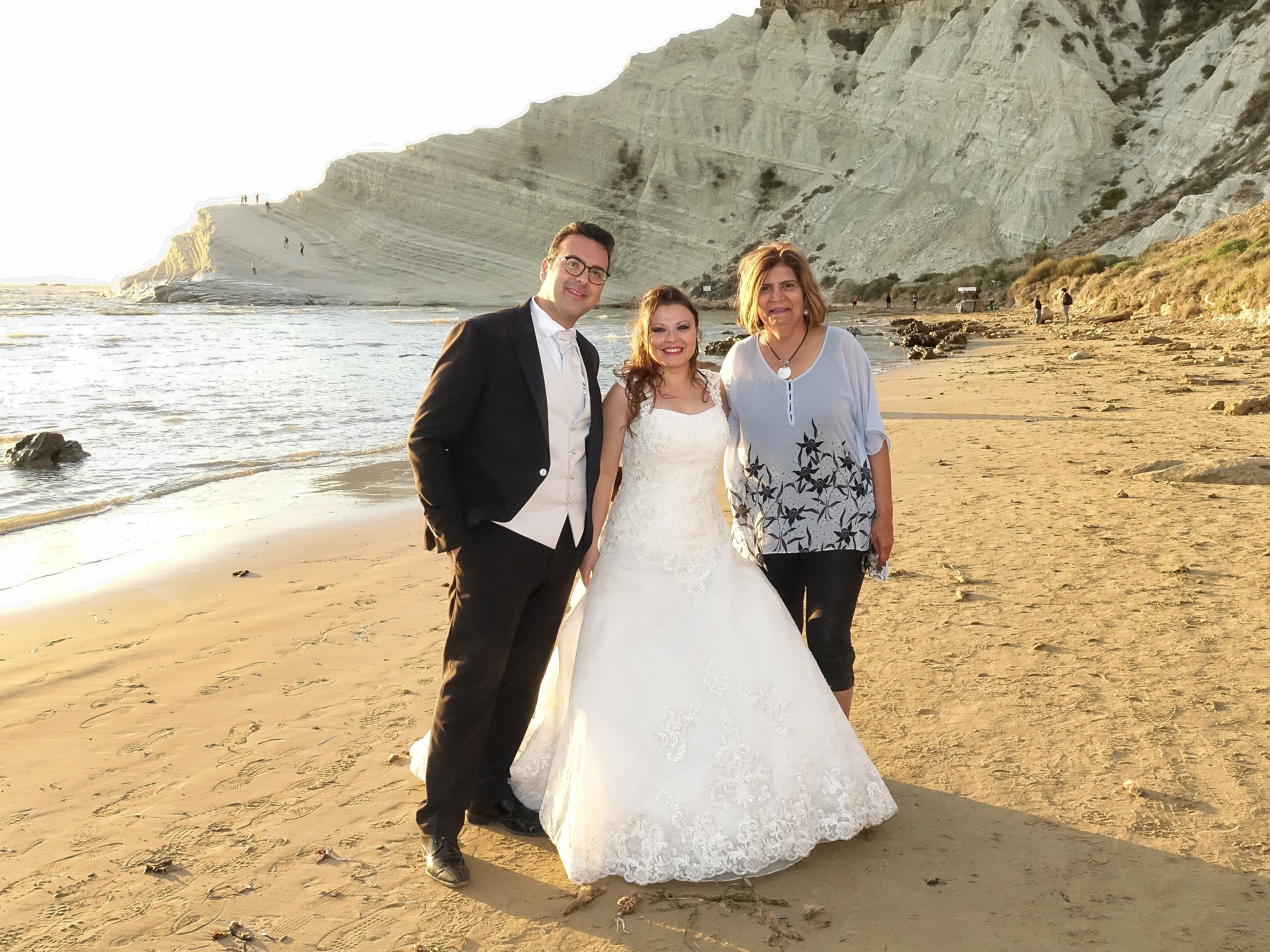 Wedding at Scala dei Turchi