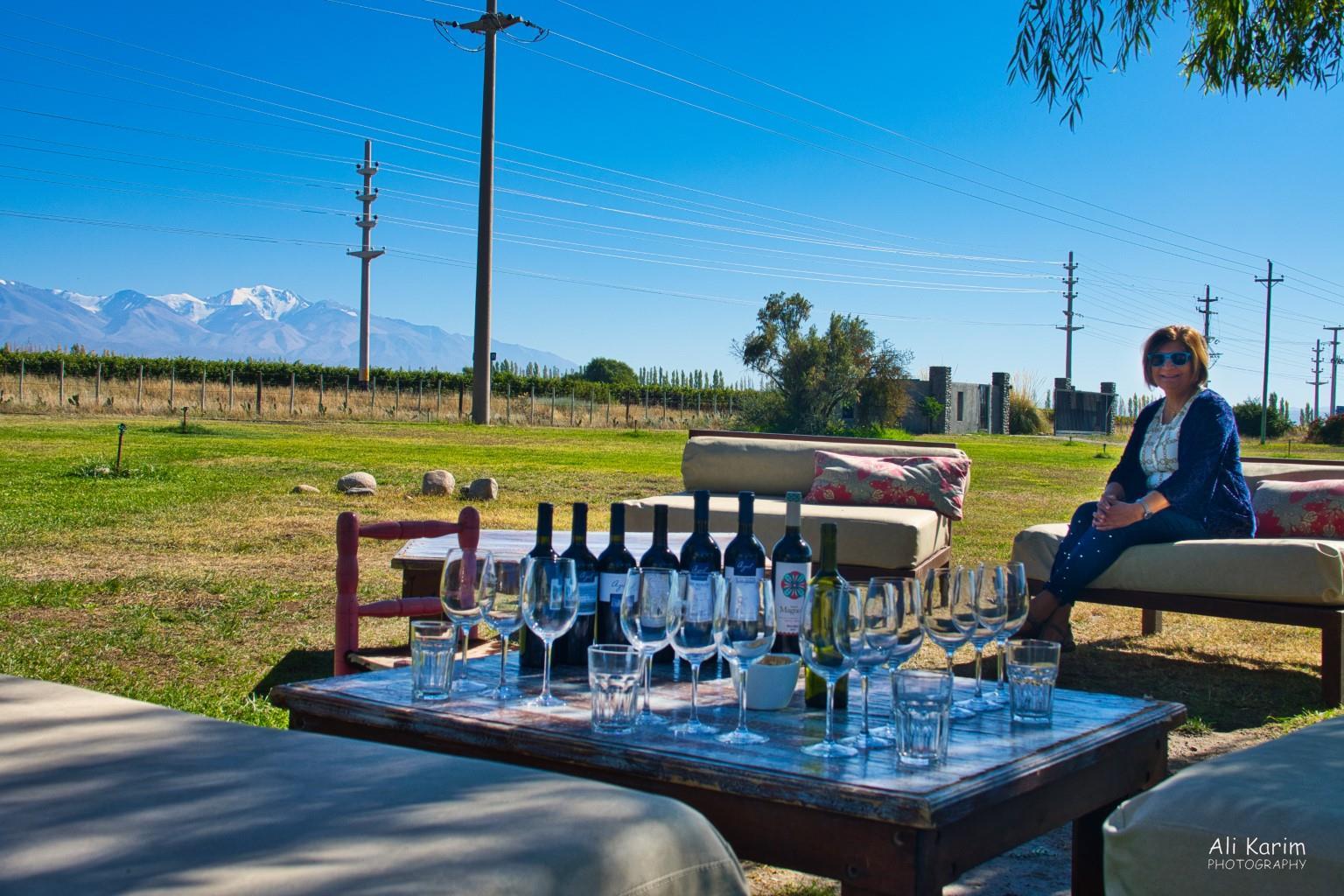 Mendoza, Argentina Ready for some wine tasting at Bodega La Azul