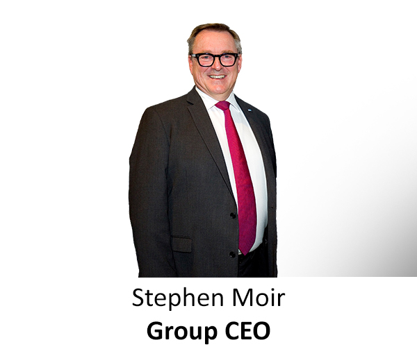 Stephen Moir CEO