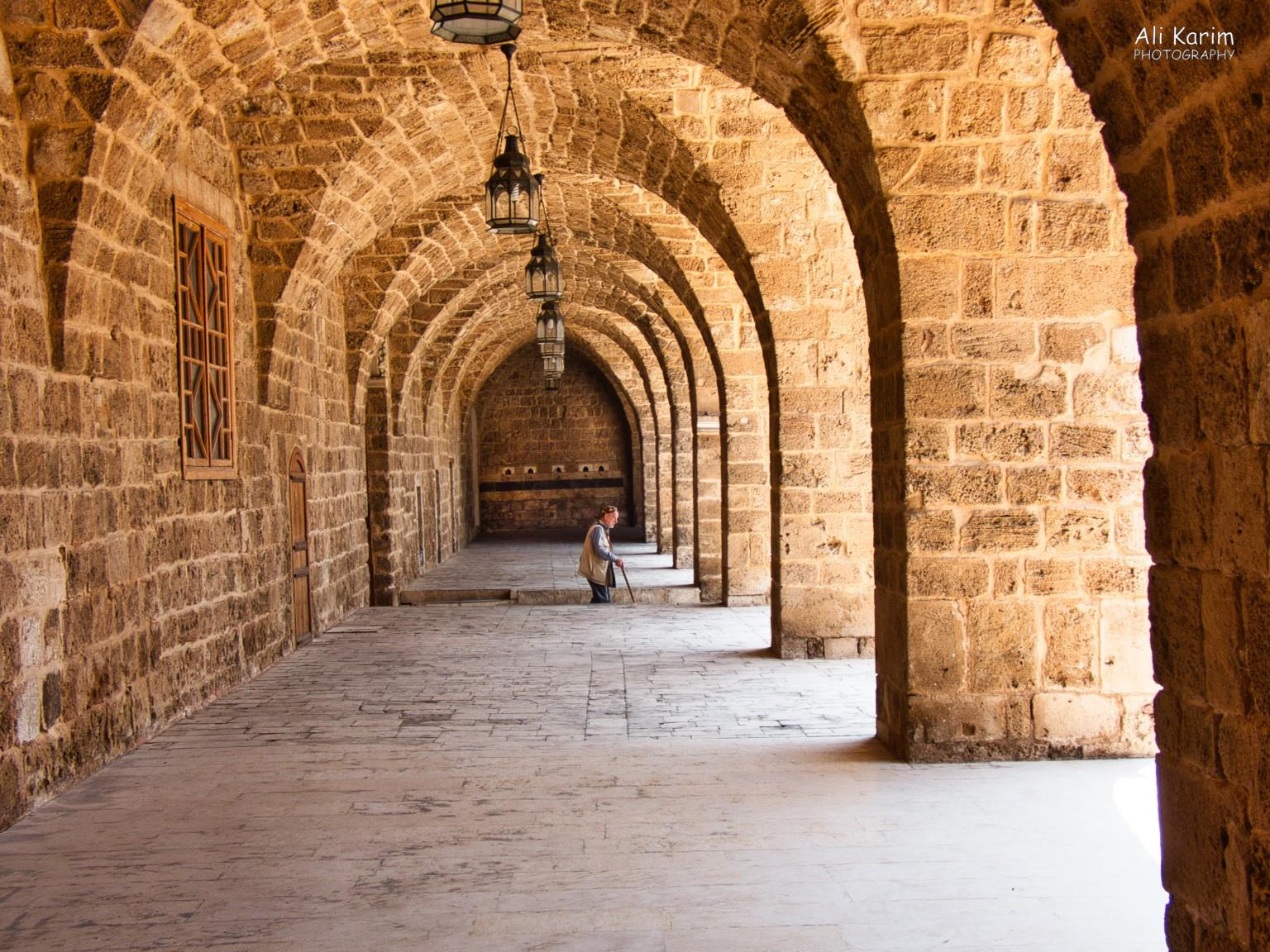 Tripoli Lebanon Courtyard inside the Grand Mosque, the quiet before prayer time