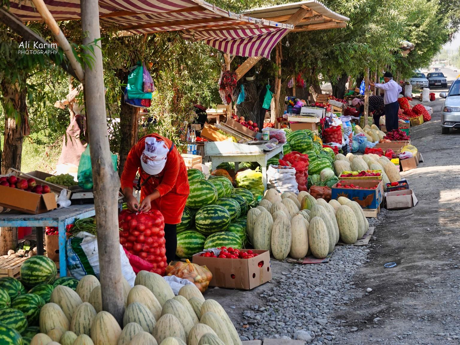 Silk Road 16: More Osh, Kyrgyzstan Lots of fresh fruits also