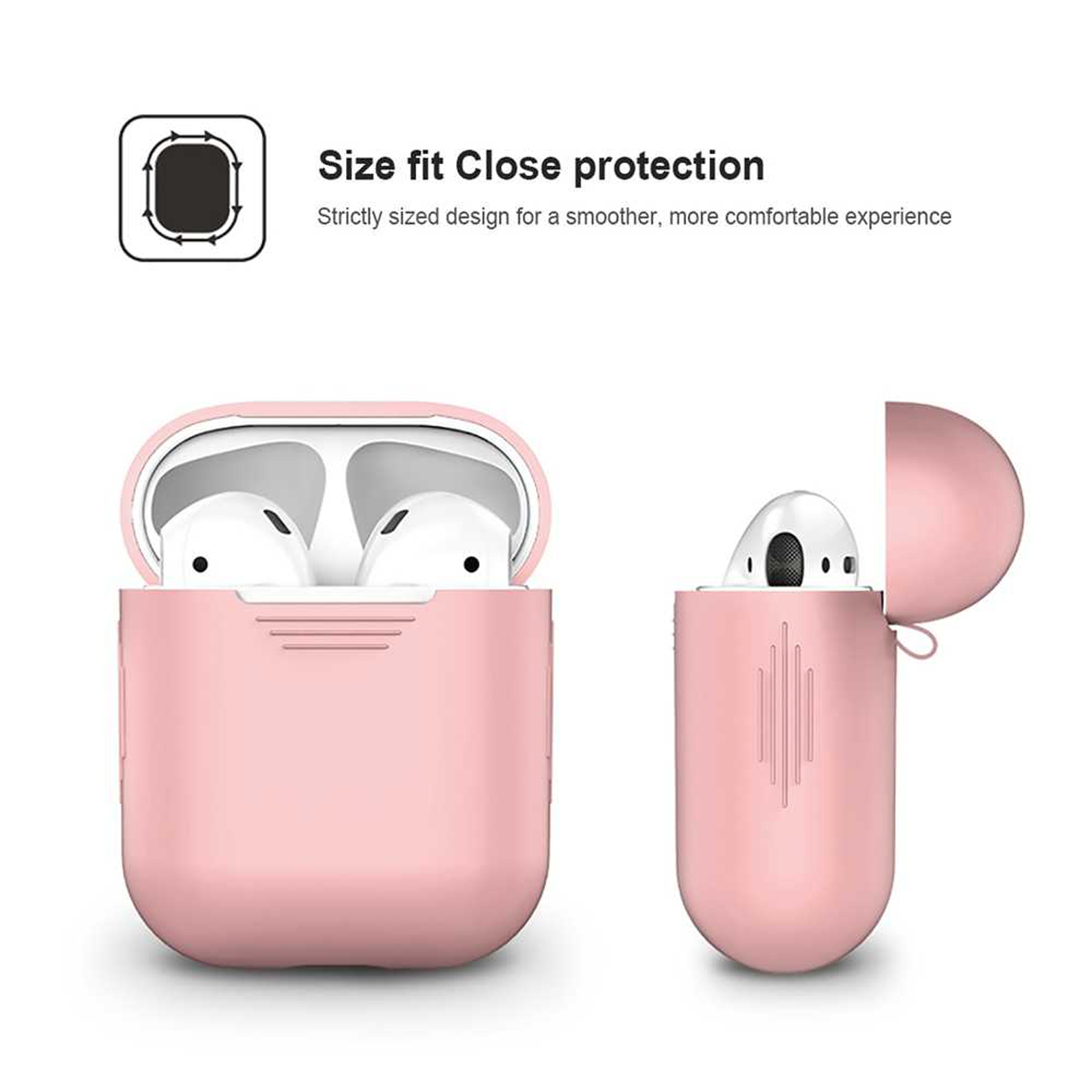 New-Silicone-TPU-Soft-Skin-Case-For-Apple-Airpods-1-2-Earphones-Charger-Cover miniatura 14