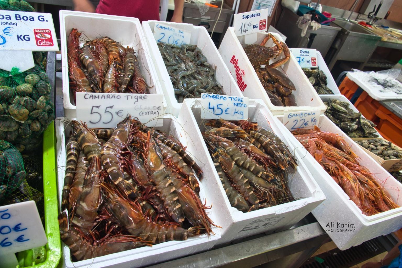 Algarve, Portugal Seafood market