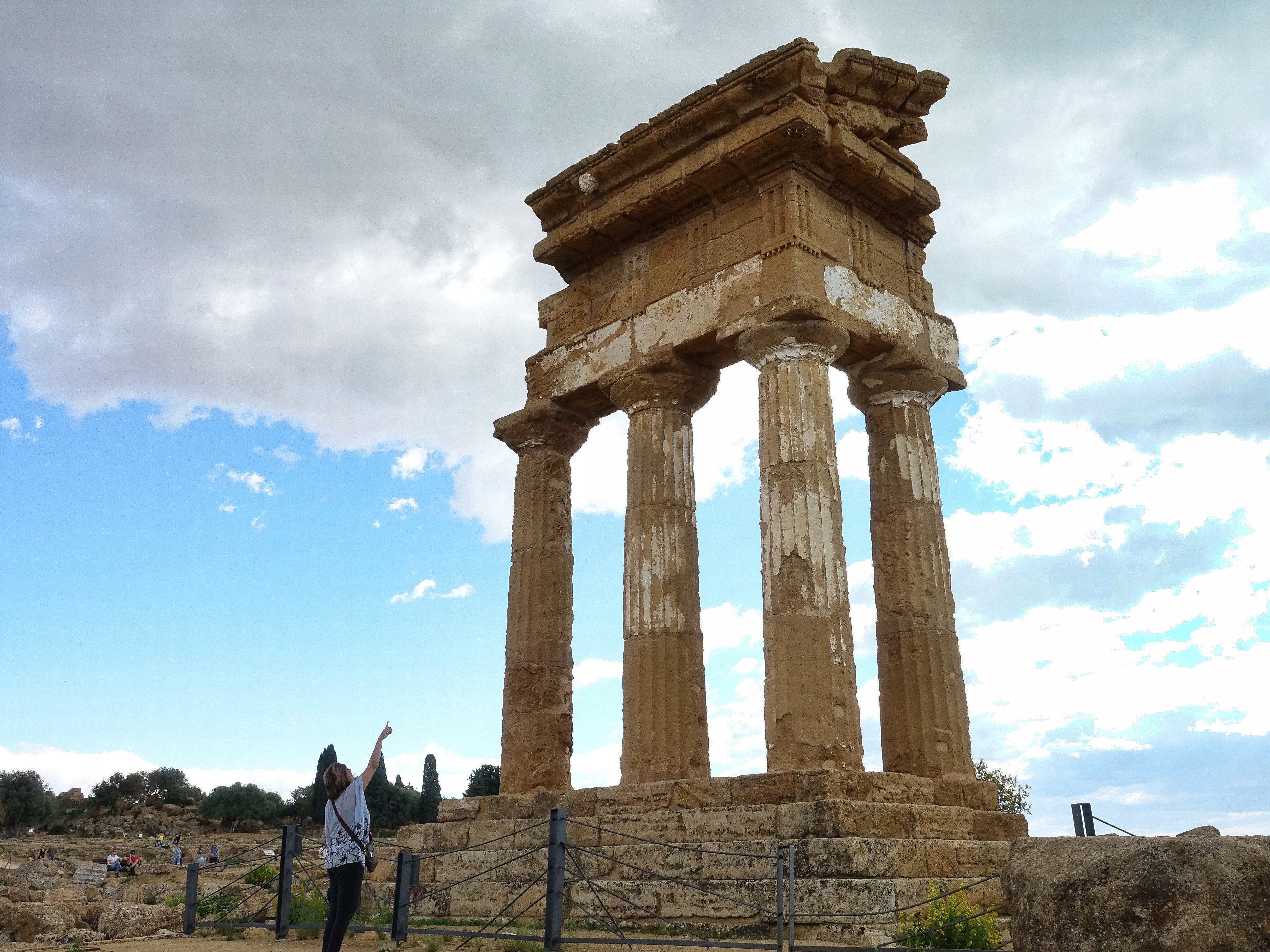 Temple of Dioscuri