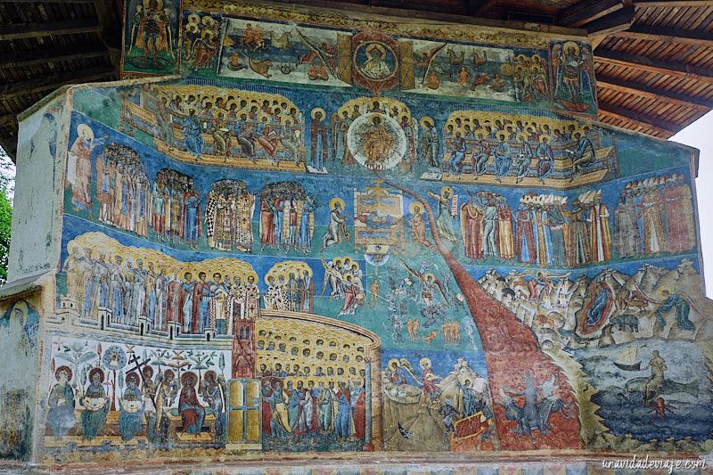 pinturas monasterios de bucovina
