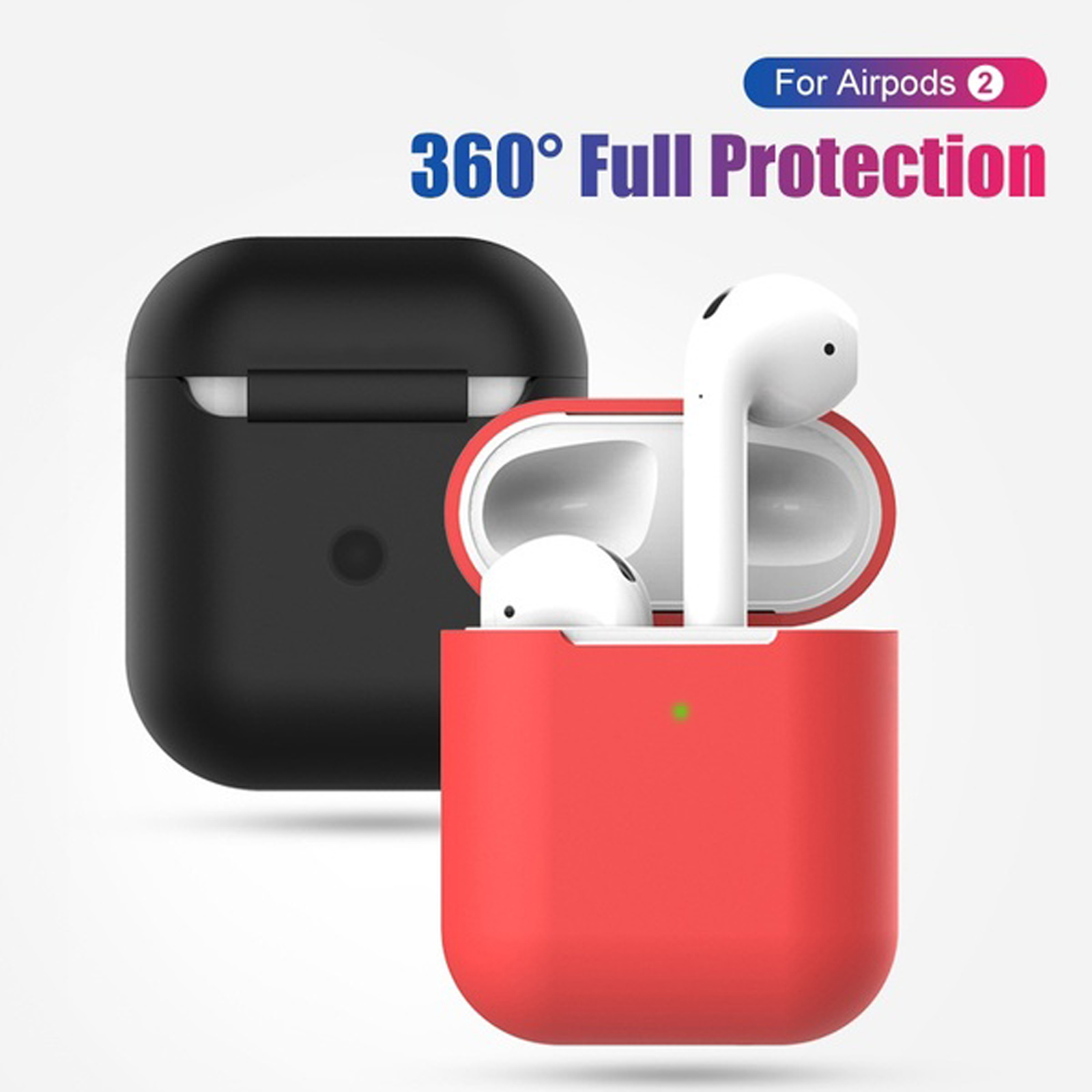 New-Silicone-TPU-Soft-Skin-Case-For-Apple-Airpods-1-2-Earphones-Charger-Cover miniatura 15