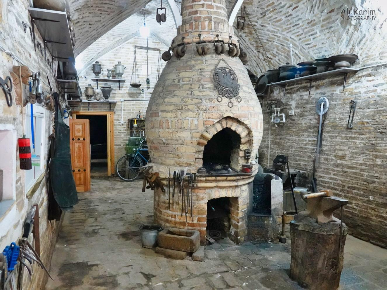 Bukhara, Oct 2019, A traditional iron-work shop still in use
