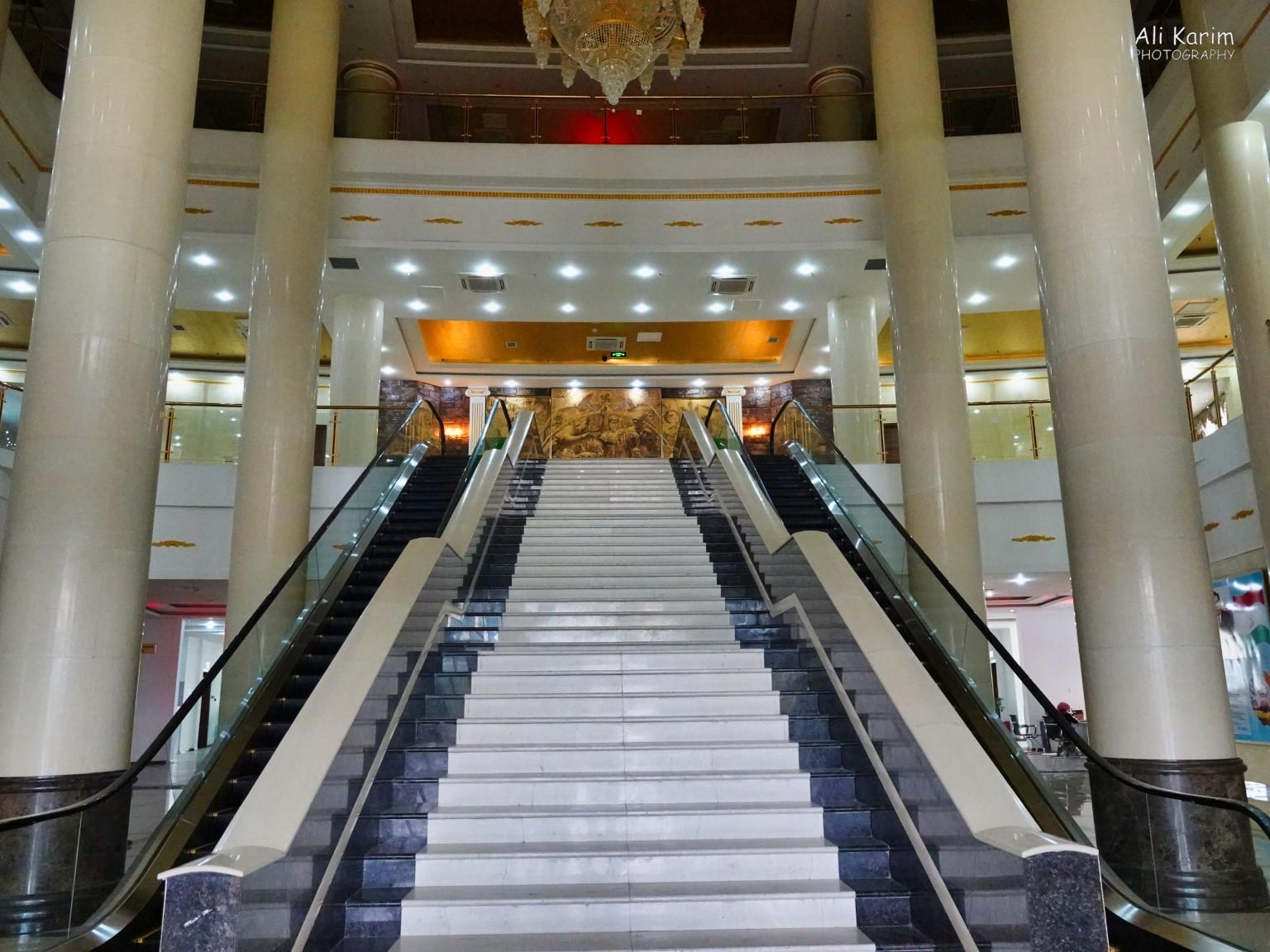 More Dushanbe, Tajikistan Grand staircase inside the library