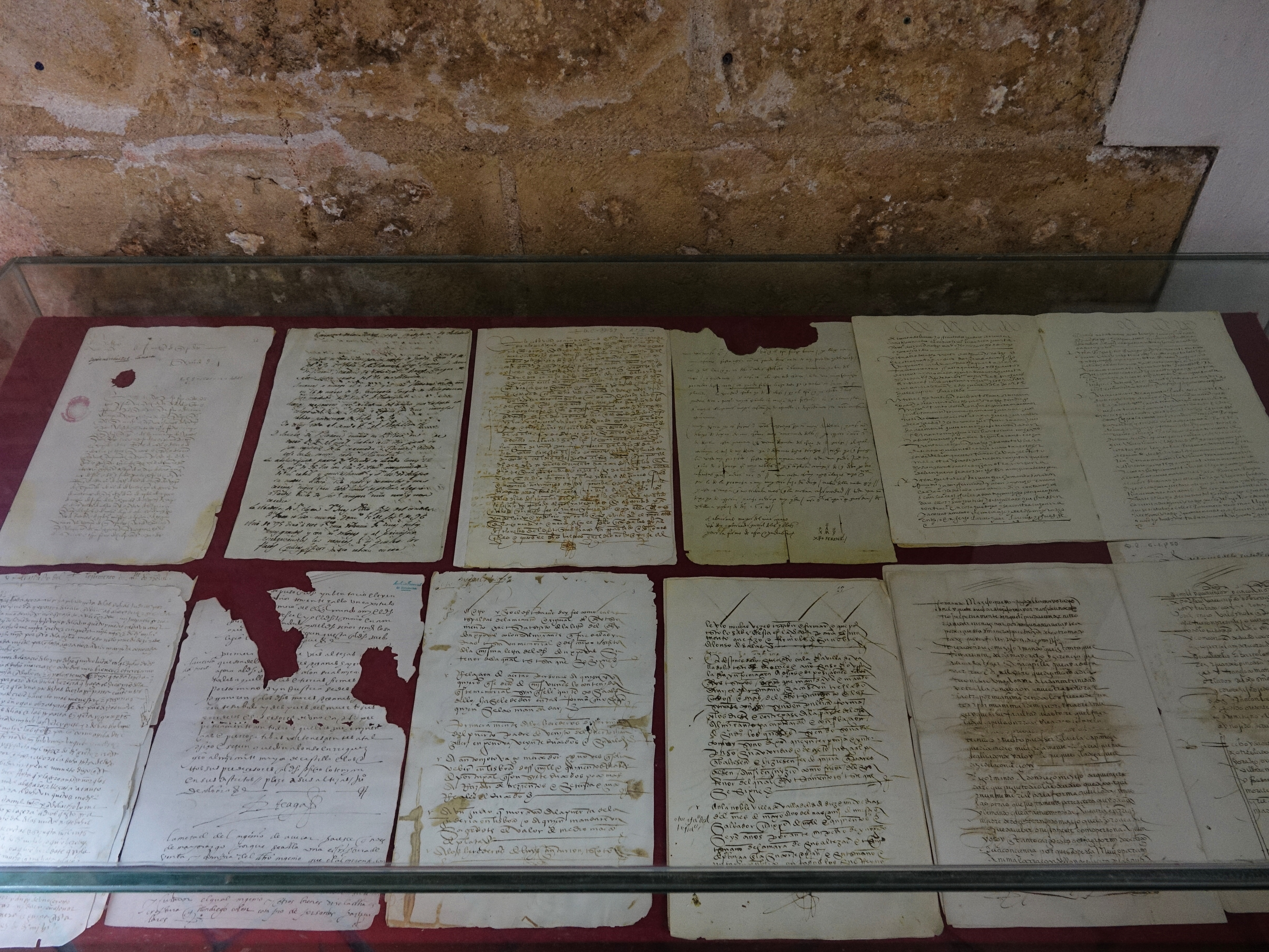 Original manuscripts of Colombus