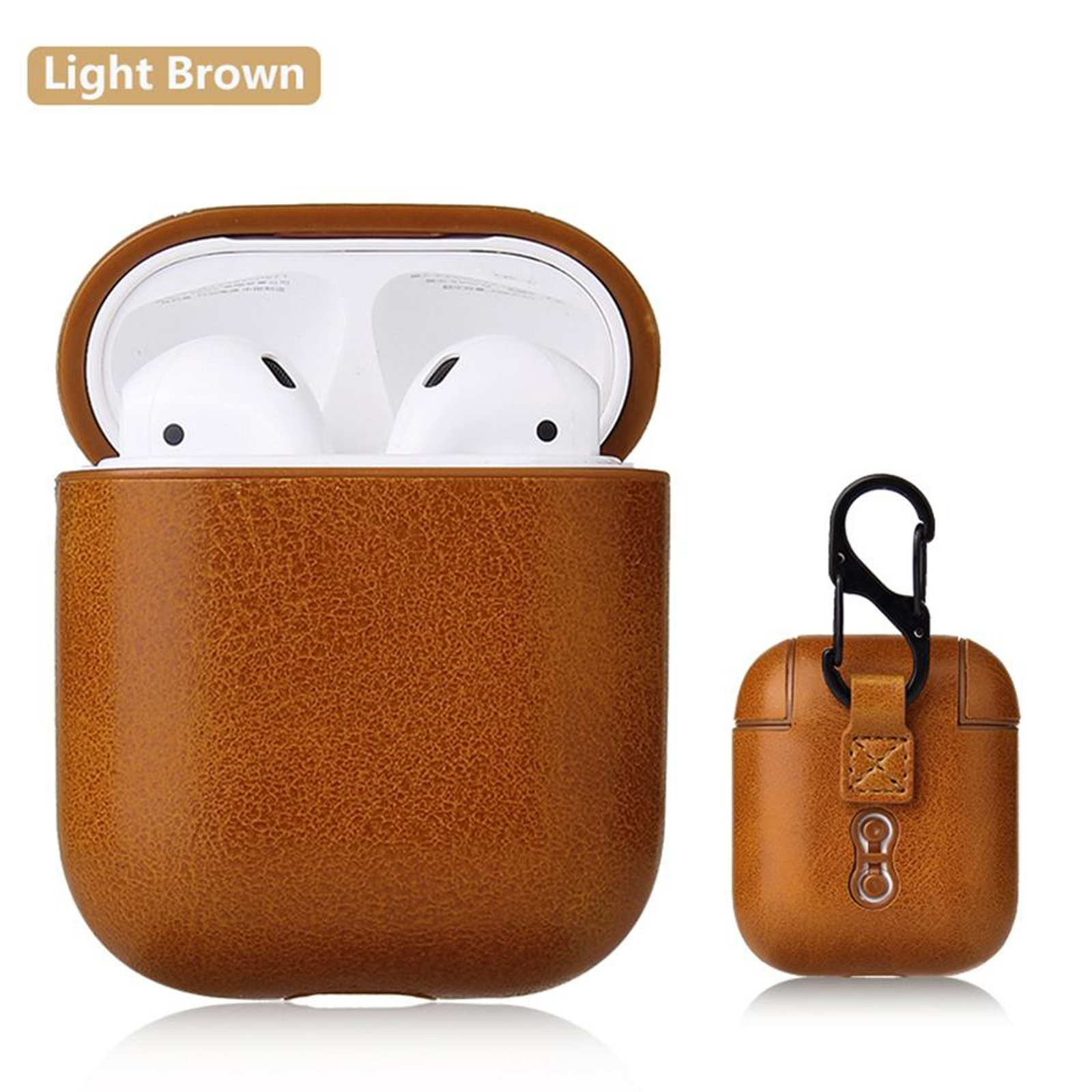 New-Leather-Soft-Skin-Case-For-Apple-Airpods-1-2-1st-2nd-Gen-Earphones-PU-Cover thumbnail 34