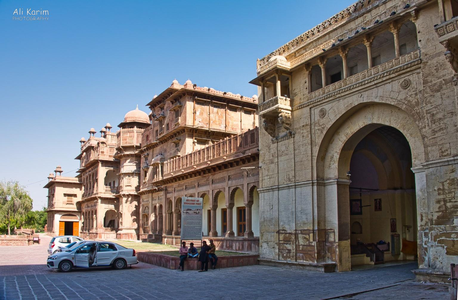 Bikaner, Rajasthan One part of the Junagarh Fort