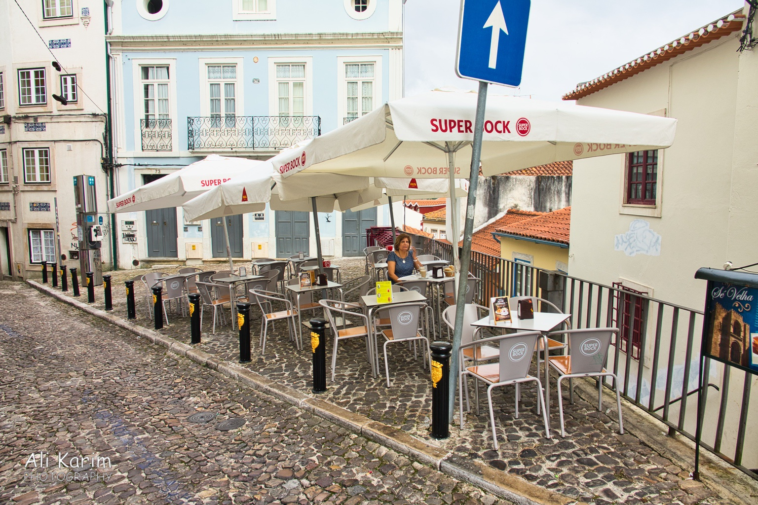 Porto Breakfast in old town Coimbra