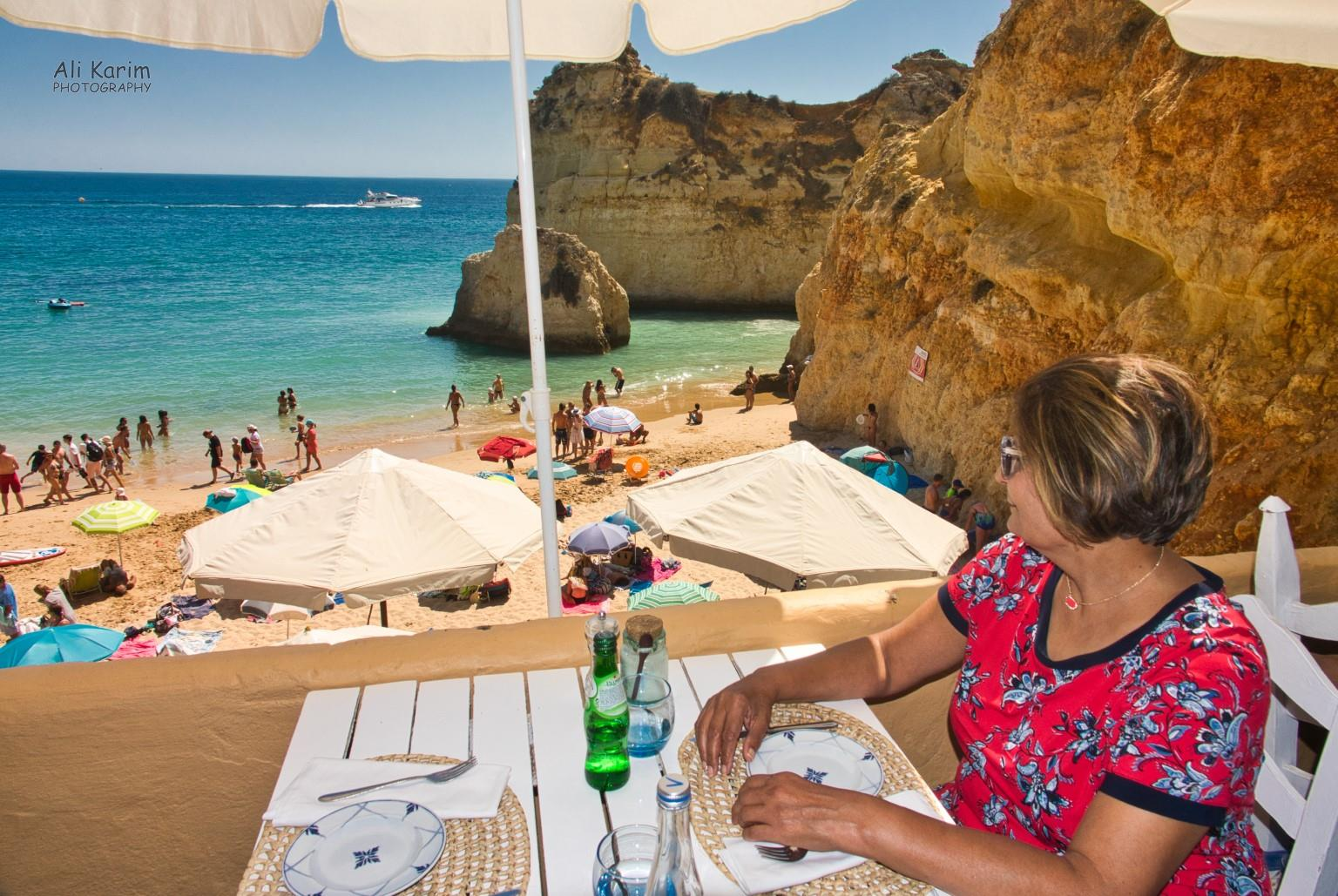 Algarve, Portugal Lunch was at a Michelin recognized beach-side restaurant